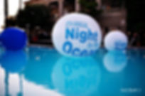 Charity poolside event example. Call us: 949.374.7258