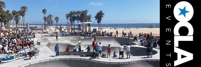 This is a skate event we produced by the beach, it was amazing.