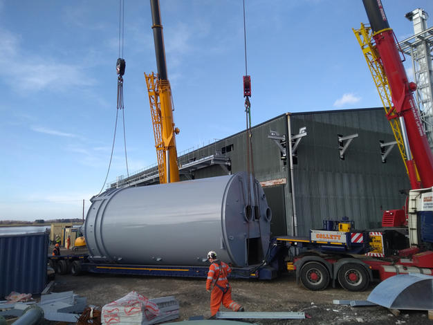 CEMENT FLAT STORE AND TANKER LOADING 8