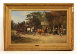 Heywood Hardy The Arrival made £30,500
