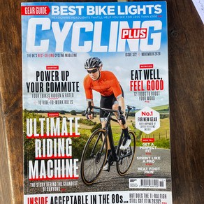 As Recommended by Cycling Plus Magazine