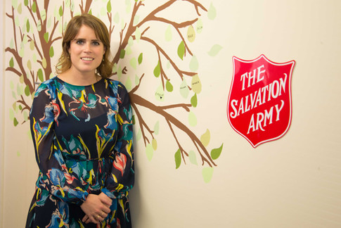 Princess Eugenie, The Salvation Army