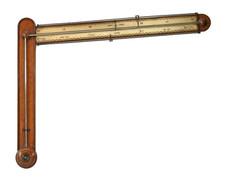 Angle or Sign-post barometer