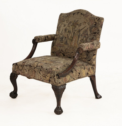 George III Farthingale arm chair £4,500