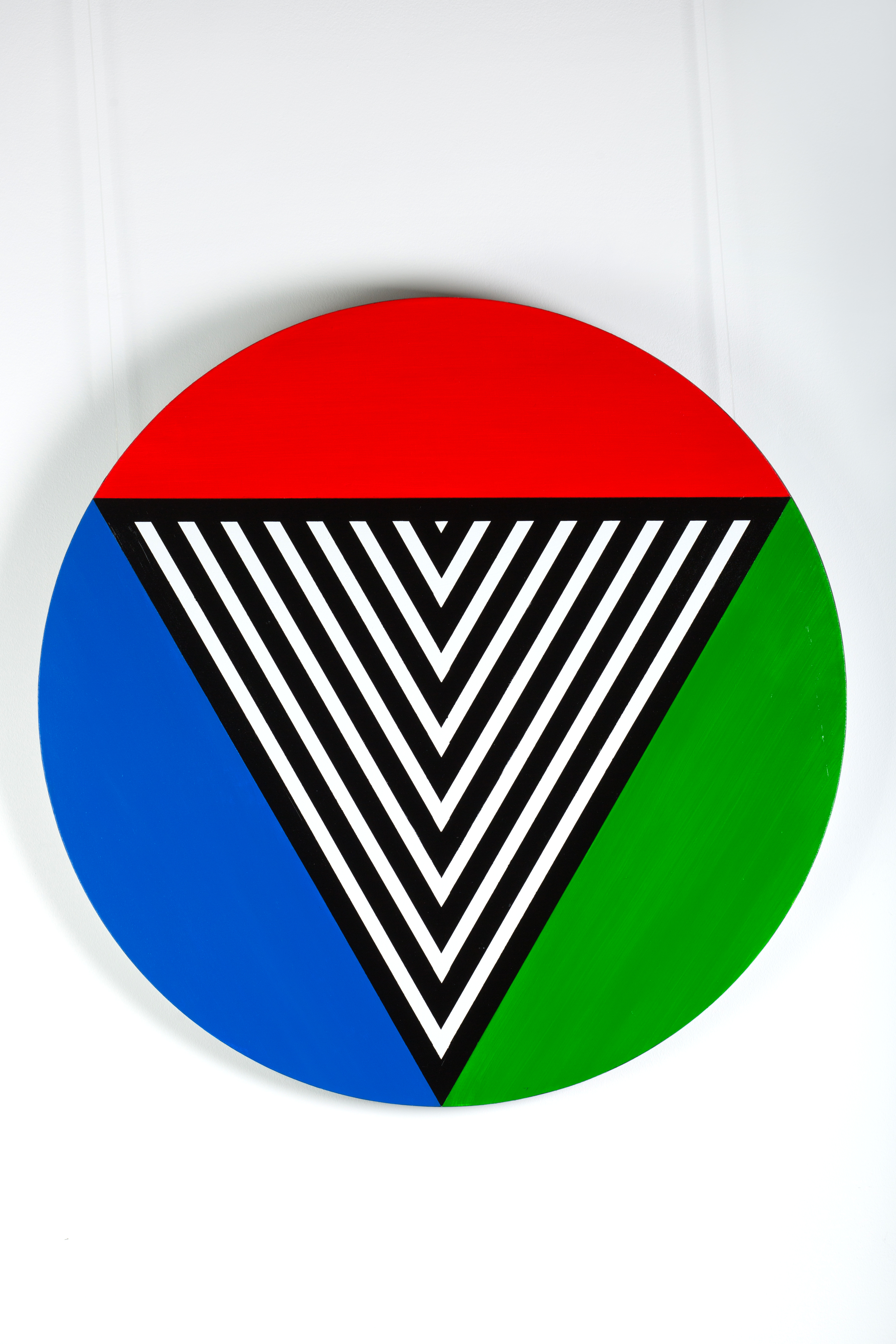 Белый треугольник RGB