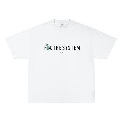 'Fix the System' Standard Tee