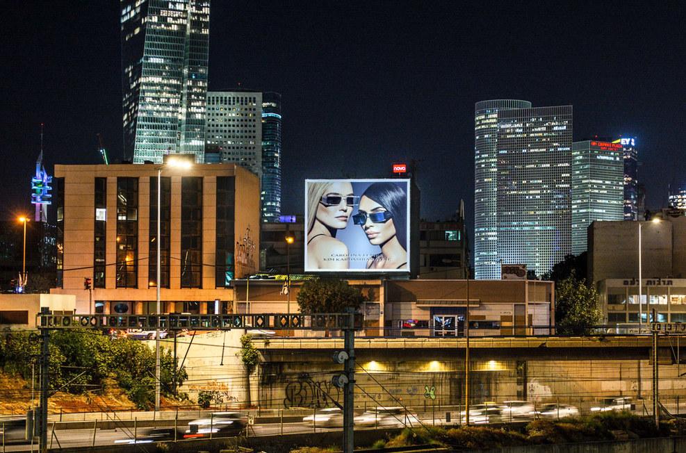 outdoor advertising in israel
