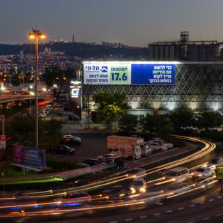 שלטי חוצות בחיפה