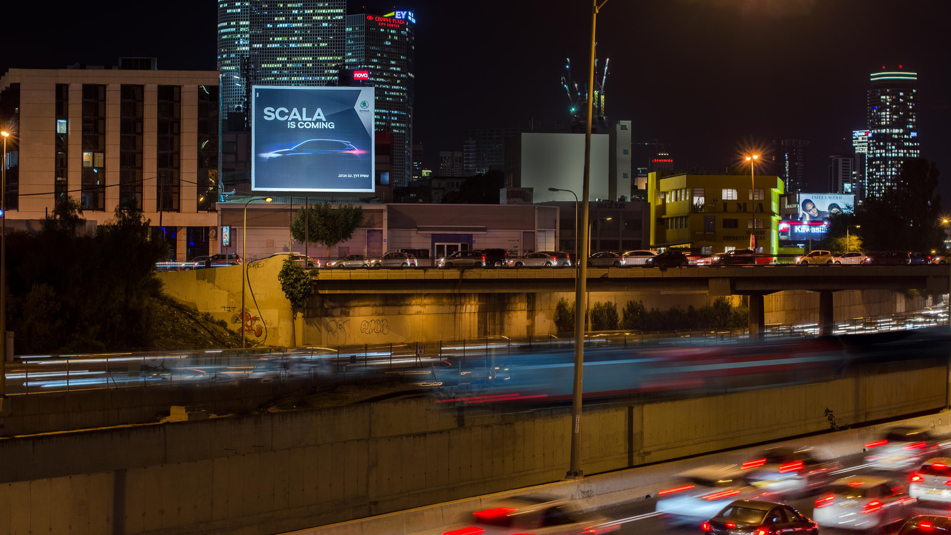 שלטי חוצות תל אביב