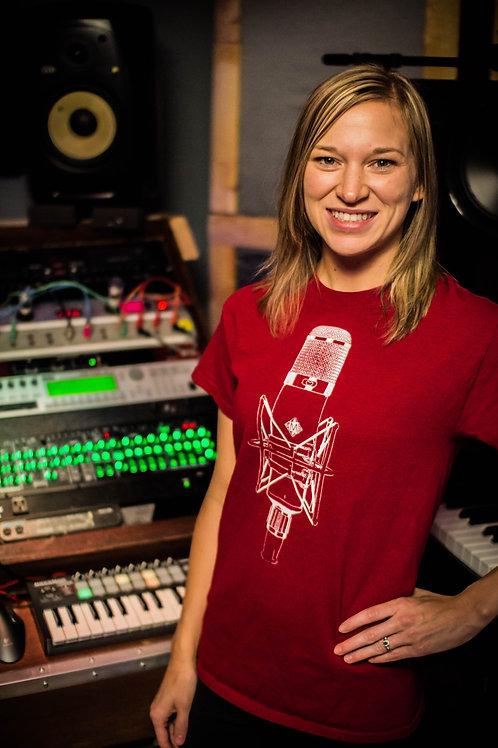 Myroom Records Microphone Shirt