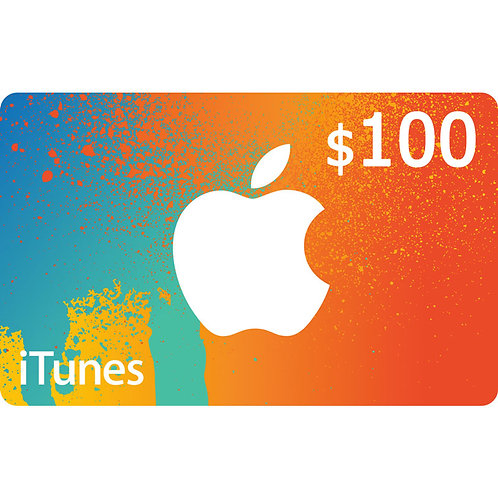 ITUNES GIFT CARD $100 USA
