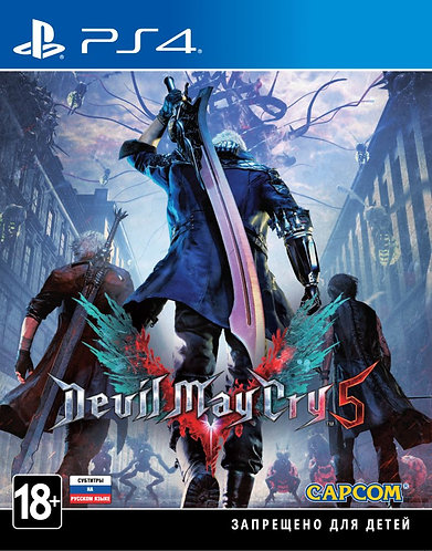 Devil May Cry 5 (PS4 | русские субтитры)