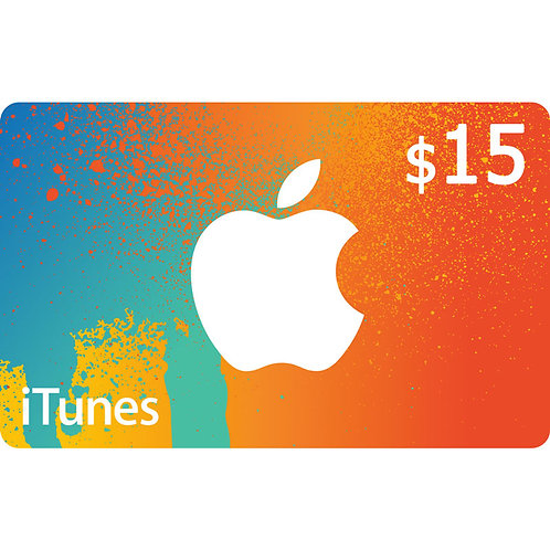 ITUNES GIFT CARD $15 USA