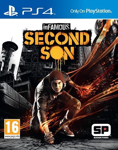 inFAMOUS Second Son  (PS4 | русская версия)