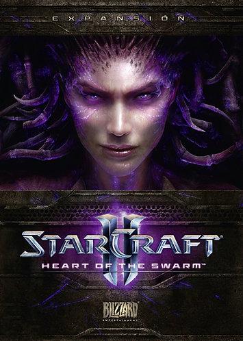 Ключ для Starcraft 2: Heart Of The Swarm