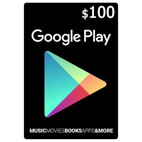 Ключ GOOGLE PLAY Gift $100