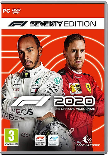 Ключ для F1 2020 Seventy Edition