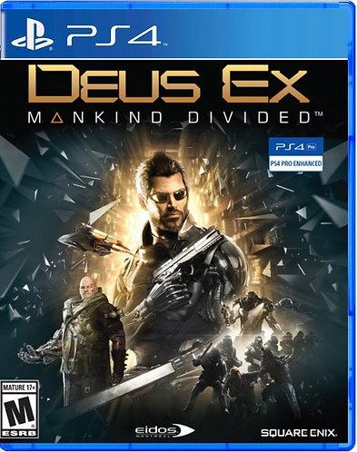 Deus Ex Mankind Divided (PS4 | русская версия)