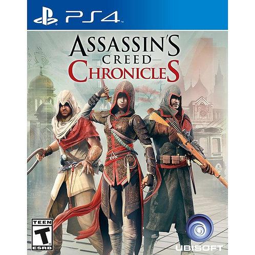 Assassins Creed Chronicles (PS4 | русские субтитры)