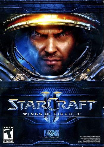 Ключ для Starcraft 2: Wings Of Liberty