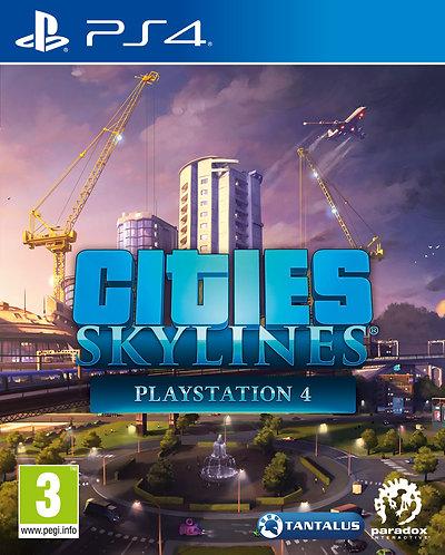 Cities Skylines (PS4 | русские субтитры)