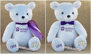 #SUDEPBear raising awareness of SUDEP