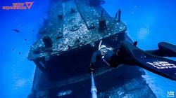 Nox Diving en  partenariat avec Water expeditions en tournage sur ce magnifique cargo ..