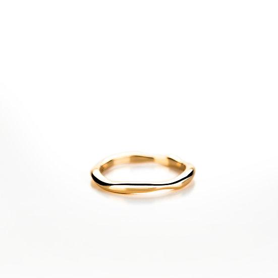 Fede ondulata in oro, Small
