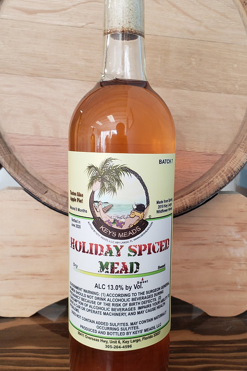 Holiday Spiced Mead, Apple Pie