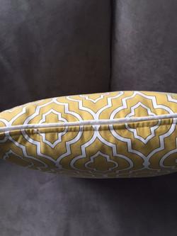 Geometric Accent Pillow