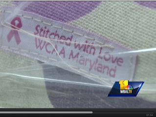 "WBAL Covers WCAA -MD ""Sip 'n Sew"" Event for Breast Cancer Survivors!"