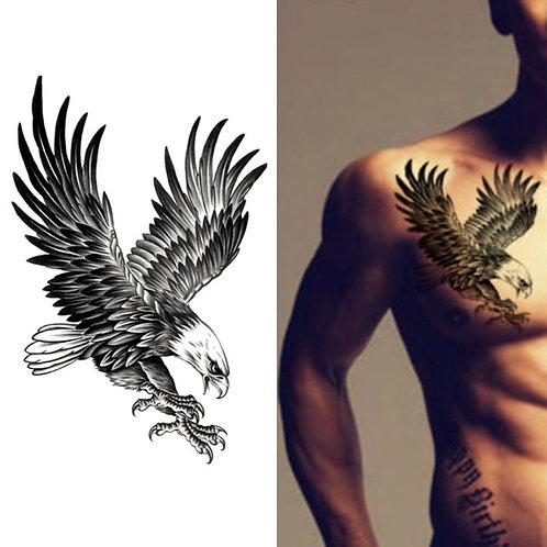 New Eagle Waterproof Temporary tattoo