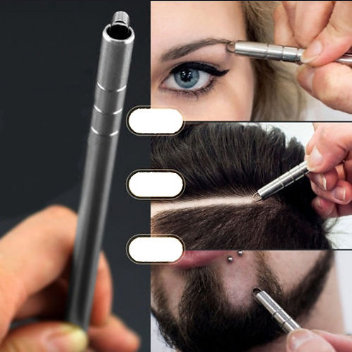 Hairstyle Engraved Pen+10Pcs Blades Professional