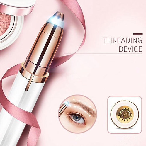 Electric Eyebrow Trimmer Painless Eye Brow Epilator Mini Eye Brow Shaper