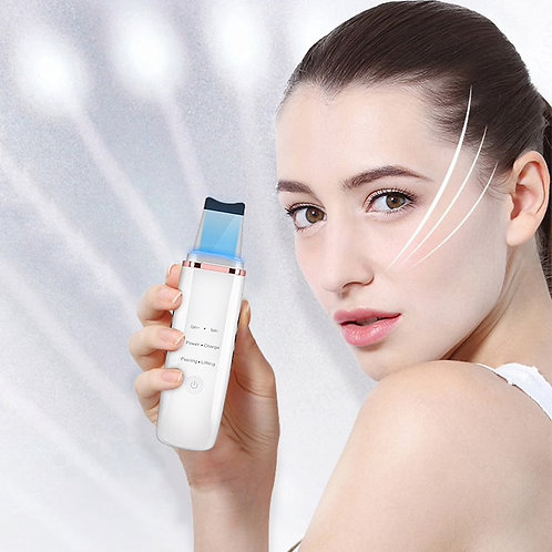 Deep Face Cleaning Machine Ultrasonic Ion Facial Pore Cleaner