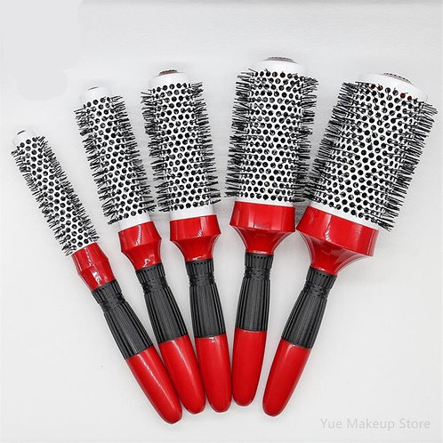 Professional luxury rond Brush High Temperature Resistant Ceramic Iron