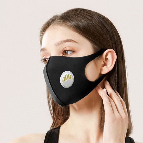 5 pieces carbon mask . Virus filter activated carbon. washable mask