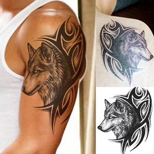HOT Wolf Temporary Tattoo