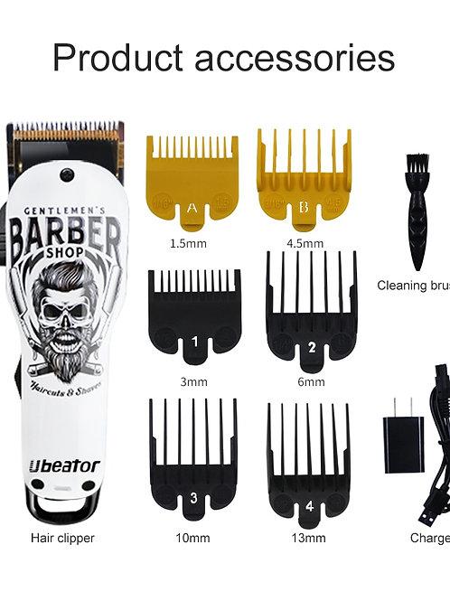 cordless rechargeable design hair clipper salon professional+ Gards
