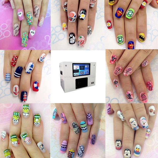 3D nail printers