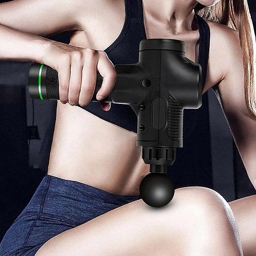 LCD  Massage Gun Deep Muscle Massager Muscle Pain