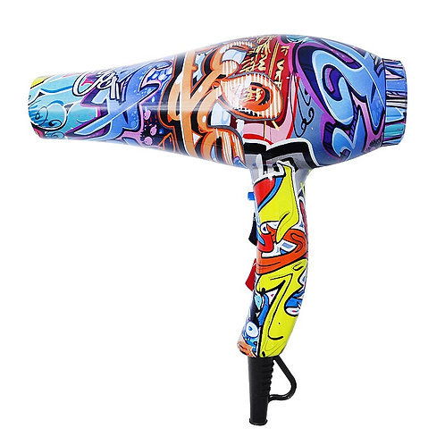 professional Hair Dryer 210-240V Graffiti  1800W strong power