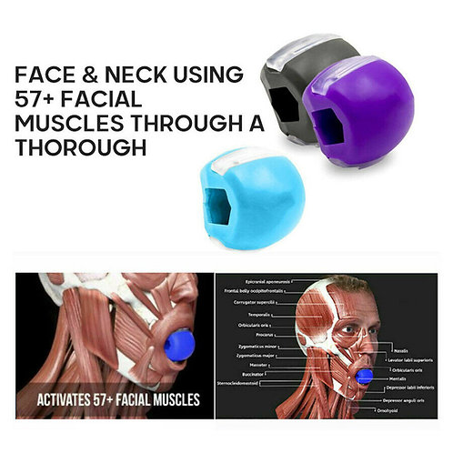 JawLine Exercise Ball  Muscle Training Face lift