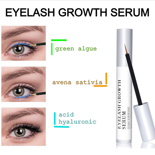 eyelash growth serum visible in 20 days