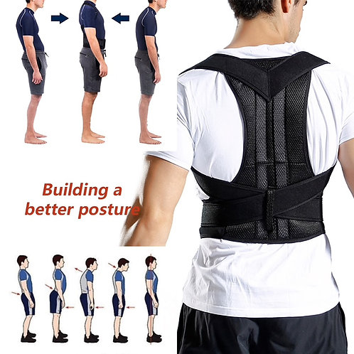Back Waist Posture Corrector Adjustable Adult Correction Belt Waist