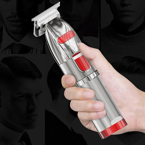 Professional Electric Hair Clipper Titanium Blade Lithium 1400mAh