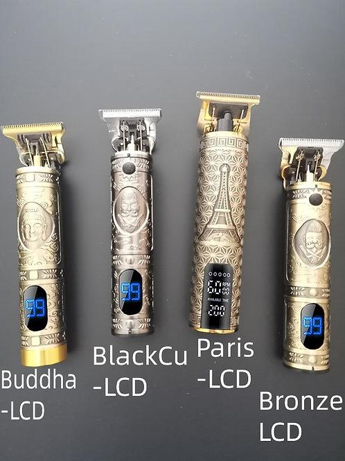 2021 LCD Professional fashion Hair Clipper  Shaver for Men Beard Trimmer Razor