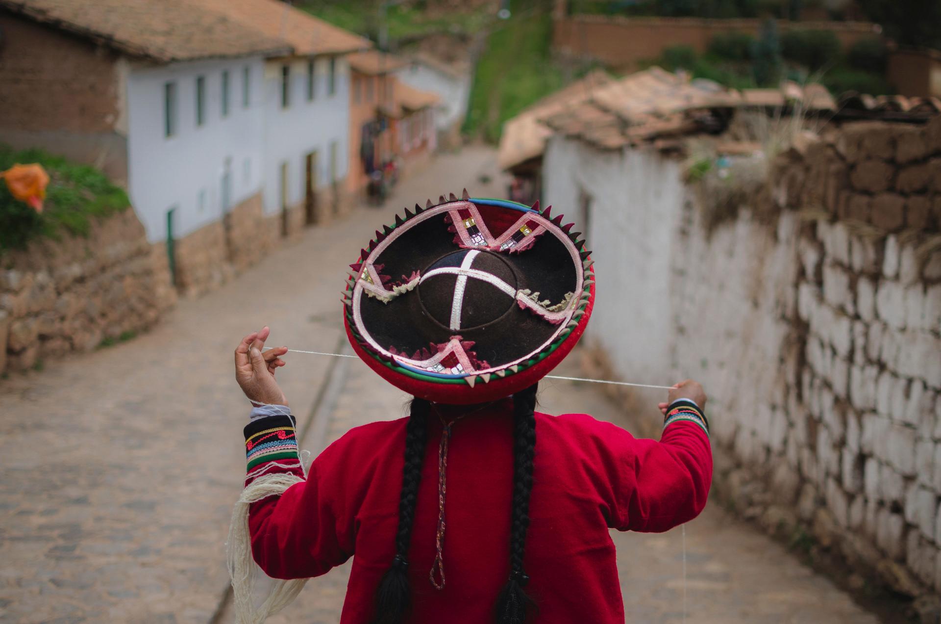 Tejedoras. Chinchero, Perú