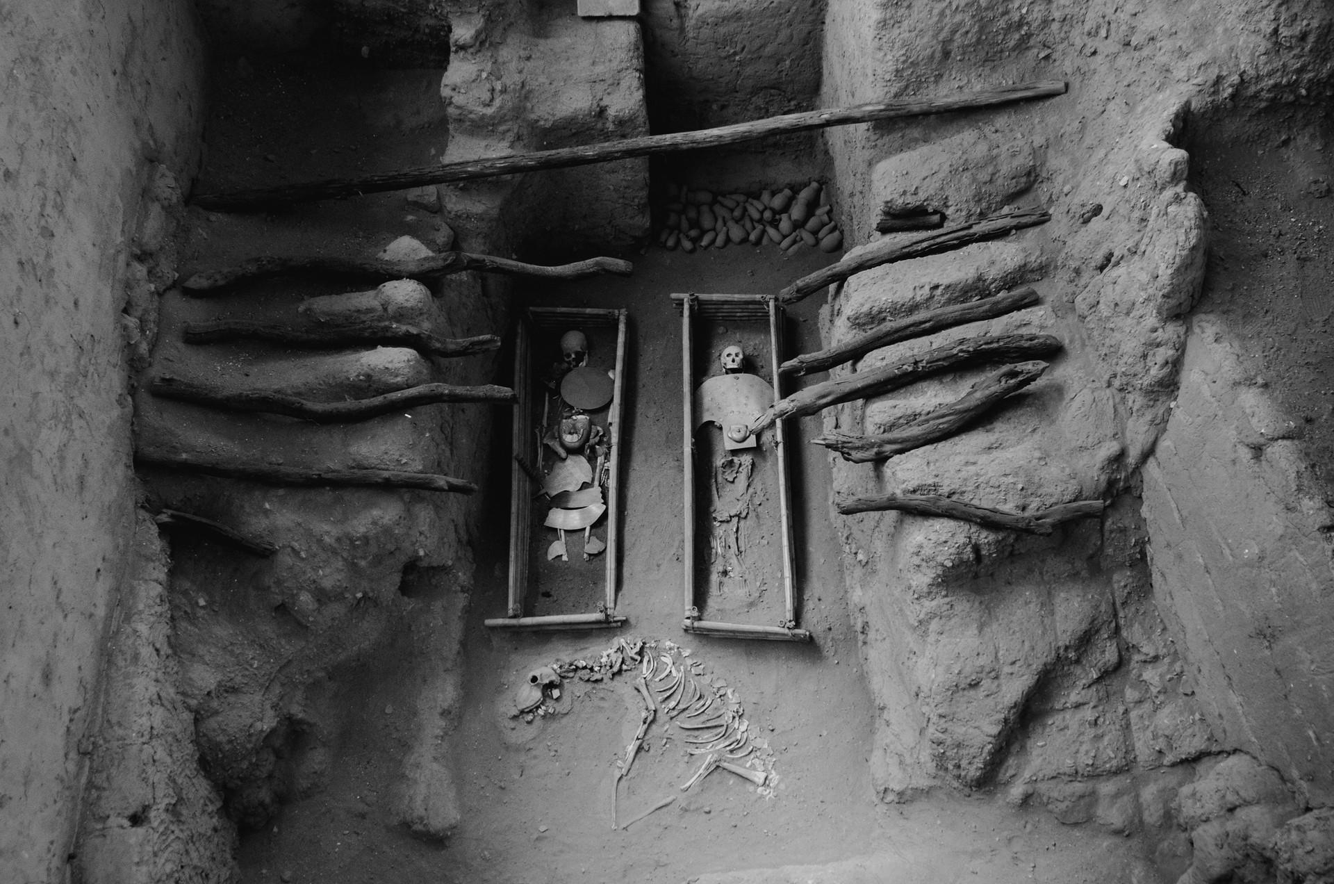 Tumbas de Sipán, Cultura Moche, Perú.