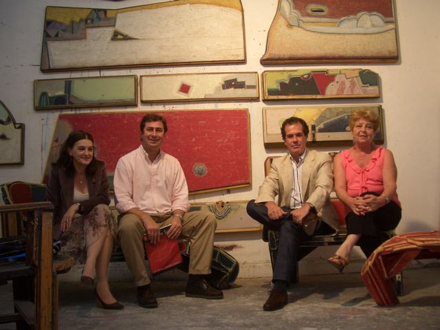 Otilia Carrique, Gonzalo Vidal, Luis Parenti y Carmen Martorell